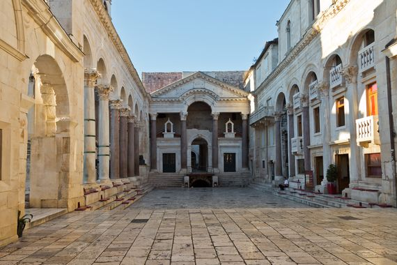 Diokletianpalast in Split © Hans Peter Denecke /  Adobe Stock